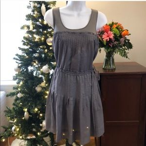 BCBG Gray Summer Dress - Size 6